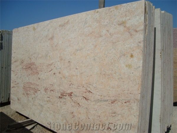 Ivory Cream Granite Slabs India Beige Granite