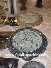 Fossil Limestone Tables