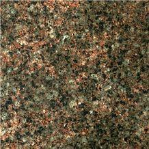 Ukrainian Autumn Granite Tile, Ukraine Brown Granite