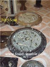 Fossil Limestone Tables