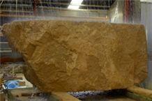 Pierre De Jaumont Limestone Block, France Yellow Limestone