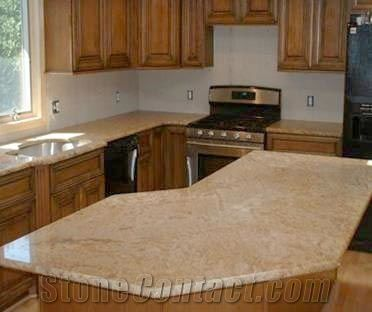 Beige Granite Countertops From South Africa 151538