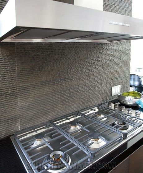 Grey Basalt Kitchen Backsplash Designs From United States
