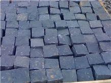 China Black Granite Cobble