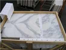 Carrara Statcal Marble Tiles & Slabs, White Marble Italy Tiles & Slabs