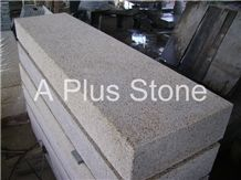 Yellow Granite Landscaping Stones, Quy Nhon Yellow Granite Kerbstone