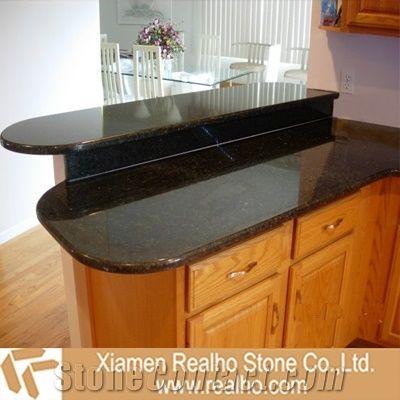China Black Granite Bar Top