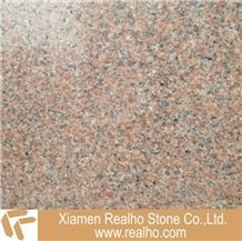 G354, Qilu Red, Chinese Red Granite Tiles