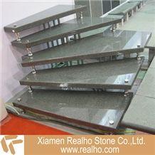 Granite Stairs, Dark Grey Granite Stairs