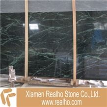 Indian Green Marble Slab, Verde India Green Marble Slabs