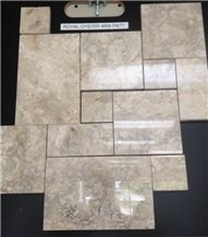 Royal Oyster Pattern, Indonesia Beige Marble Slabs & Tiles