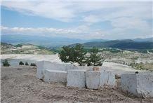 Yatagan Travertine Blocks, Turkey Beige Travertine