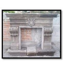 Cafe Alhambra Cantera Fireplace Mantel