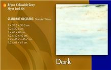 Afyon Yellow - Afyon Yellowish Grey, Turkey Yellow Marble Slabs & Tiles