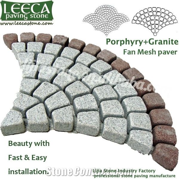 Stone Patio Pavers Lowes Prophyry Basalt Granite Patio Pavers From China Stonecontact Com