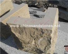 Mushroom Stone-01 Yellow Sandstone