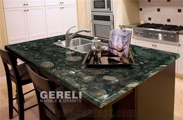 Verde Marinace Kitchen Tops Green Granite Kitchen Tops