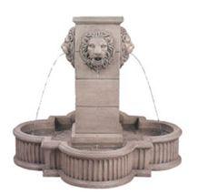 Beige Limestone Garden Fountain