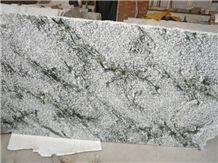 India Multicolor Green Granite Slabs & Tiles