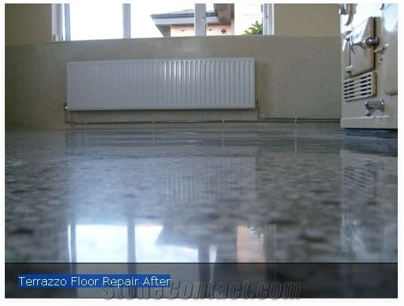 Terrazzo Floor Repair After From United Kingdom