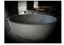 Blanco Bego White Stone Tub, White Marble Bath Tub