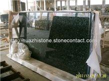 Pre-fab Countertop, Black Granite Countertop