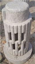 G682 Granite Lantern, China Yellow Granite,Yellow Granite