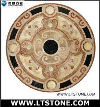 Stone Marble Medallion Round