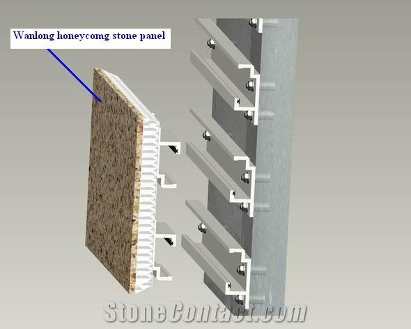 Stone Honeycomb Panel For Facade Cladding From China