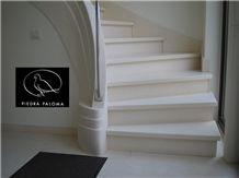 Piedra Paloma Stairs, Escaleras, Escaliers, White Limestone Stairs & Steps Spain