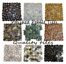 Polished Pebble Tile Mosaic