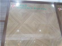 Golden Silk Wood Vein Marble Tiles