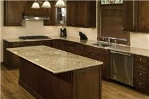 Gold Grain Hami Granite Counter Top