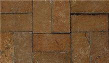 Clay Reddish Color Mountain Stones, Oman Brown Sandstone Slabs & Tiles