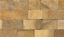 Tan Color Natural Mountain Stones, Tan Sandstone