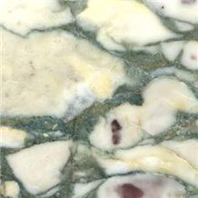 Breccia Verde Seravezza, Italy Green Marble Slabs & Tiles