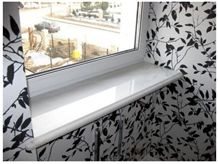 Sivec White AB Marble Window Sills, Bianco Sivec White Marble