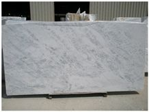 Florida White A1 Slabs, Greece White Marble