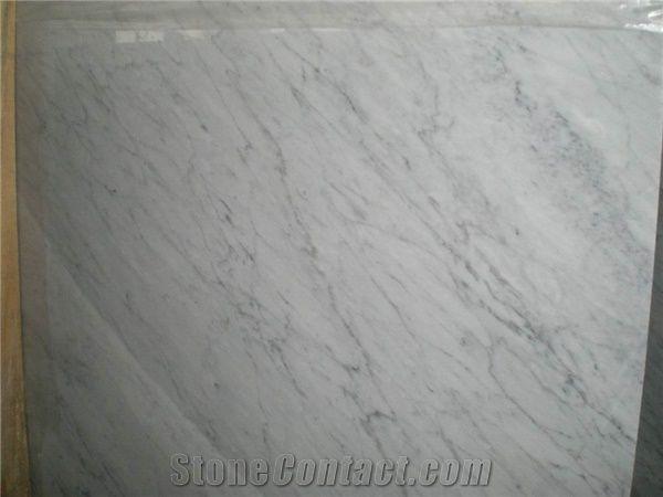 Bianco Carrara Marble Slab, Italy White Marble from China