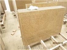 G682 Giallo Garnet Beige Granite Stone Slabs Tile