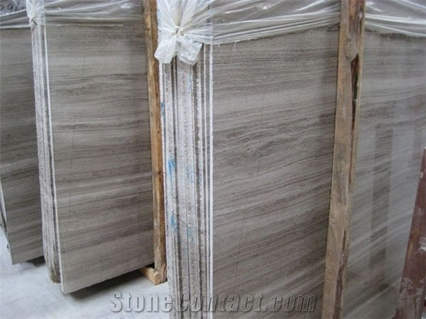 Dark Silver Travertine Slabs Serpeggiante From China