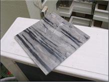 Black and White Marble Flooring Design HFZ002J3