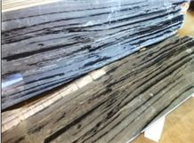Black and White Natural Marble Stone HFZ004J3