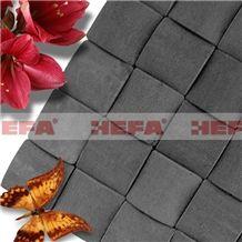 Deep Grey Easy Mosaic Patterns-XMD003A, ,esite Grey Basalt Mosaic Patterns