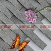 Deep Grey Mosaic Tile XMD001A-215, Esite Grey Basalt Mosaic