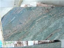 Green and Pink Natural Stone Slab HFZ003J4