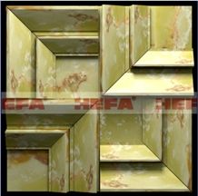 Green Jade Wall Tiles HF-002LG, Green Jade Onyx Tiles