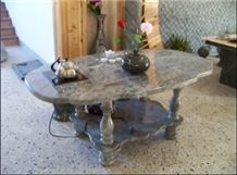 Green&pink Huaan Jade Coffee Table HFZZ004J4