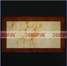 White and Red Onyx Tiles HF-001HL, Red Dragon Jade White Onyx Tiles
