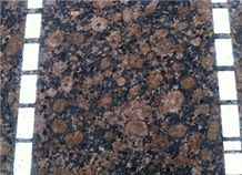 Finland Baltic Brown Granite stone 2cm Slabs & Tiles for Flooring covering and Walling produced in China with very competitive prices ,Bruno Baltico Stone for countertops & vanity tops ,cut-to-size
